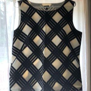 NWT Talbots Silk Sleeveless Blouse Sz 12